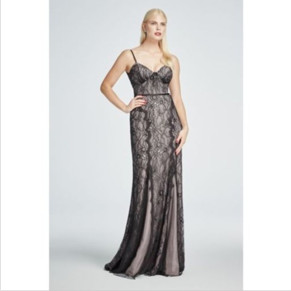 Zac Posen Dresses | Truly All Over Lace Gown Dress Black | Poshmark